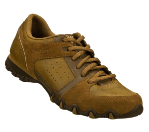 Brown Skechers Relaxed Fit: Bikers - Transcend