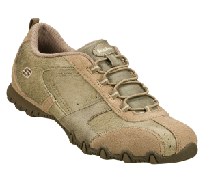 Natural Skechers Relaxed Fit: Bikers - Climber