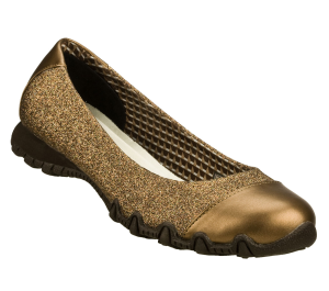 BronzeBronze Skechers Relaxed Fit: Bikers - Glitzy Sparkle