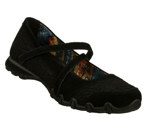 Black Skechers Relaxed Fit: Bikers - Decompress