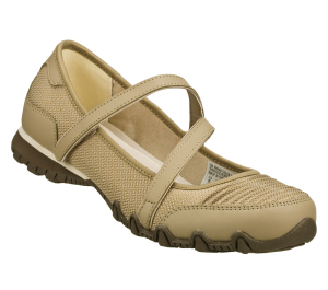 Natural Skechers Relaxed Fit: Bikers - Step It