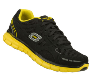 YellowBlack Skechers Synergy - Over Haul