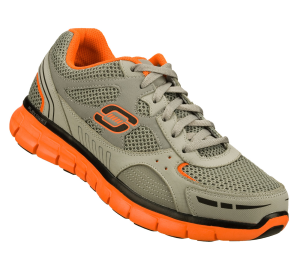 OrangeGray Skechers Synergy - Over Haul