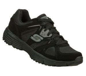 GrayBlack Skechers Agility - Outfield