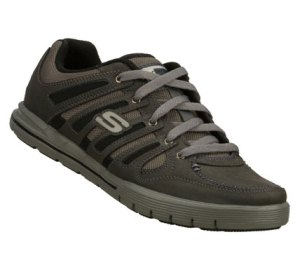 Gray Skechers Relaxed Fit: Arcade II - Phase