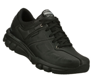 Black Skechers Relaxed Fit: Biped