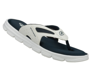 NavyWhite Skechers Relaxed Fit: Uprush