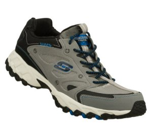 Gray Skechers Spider - Web