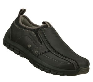 Black Skechers Relaxed Fit: Masen