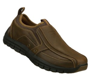 Brown Skechers Relaxed Fit: Masen