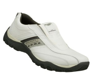 GrayWhite Skechers Relaxed Fit: Artifact - Excavate