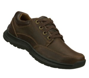 BrownBrown Skechers Relaxed Fit: Botein - Verman