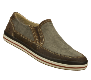 Brown Skechers Relaxed Fit: Diamondback - Sione