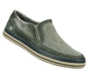 Gray Skechers Relaxed Fit: Diamondback - Sione