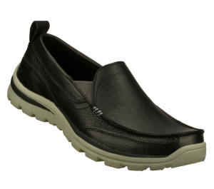 Black Skechers Relaxed Fit: Superior - Gains
