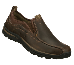 Brown Skechers Relaxed Fit: Superior - Router