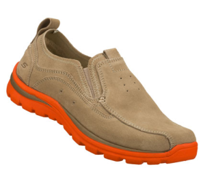 OrangeBrown Skechers Relaxed Fit: Superior - Bates