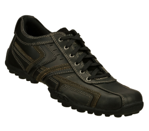 Black Skechers Relaxed Fit: Talus - Valey