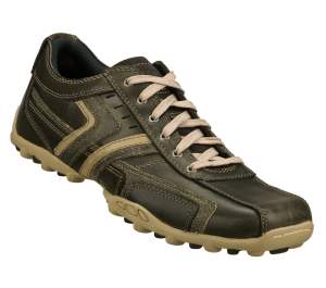Gray Skechers Relaxed Fit: Talus - Valey