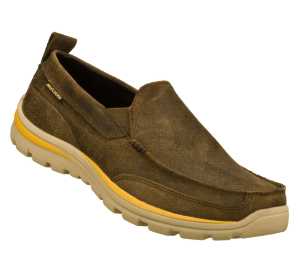 BrownBrown Skechers Relaxed Fit: Superior - Nestor