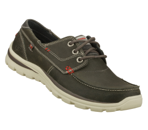 Gray Skechers Relaxed Fit: Superior - Tevin
