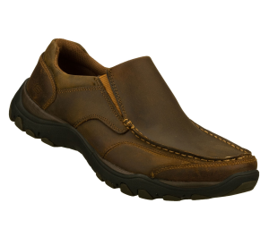 Brown Skechers Relaxed Fit: Artifact - Rusk