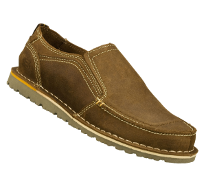 Natural-Brown Skechers Relaxed Fit Golson - Belton