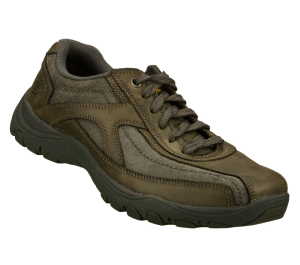 Gray Skechers Relaxed Fit: Artifact - Muster