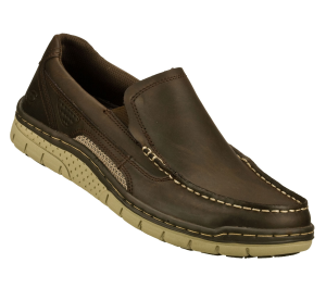 BrownBrown Skechers Relaxed Fit: Noris - Visto