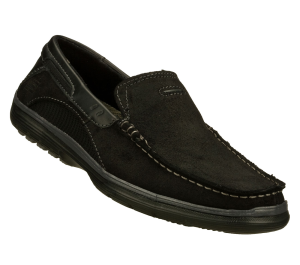 Black Skechers Relaxed Fit: Arcos - Harlen