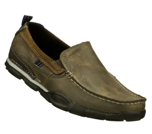 Gray Skechers Relaxed Fit: Berdon - Winson