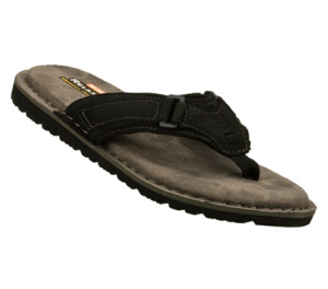 Black Skechers Relaxed Fit: Golson - Stage