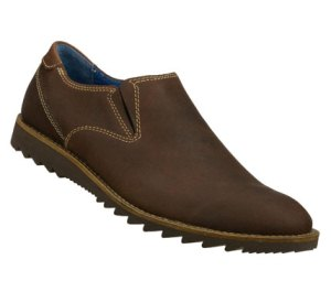 Brown Skechers Claro