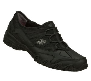 Skechers Work: Compulsions - Indulgent : Black - Womens
