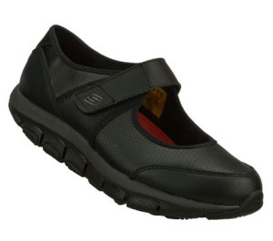 Skechers Work: Shape-ups LIV SR - Suncap : Black - Womens