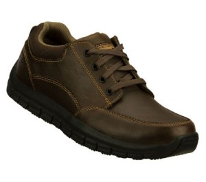 Brown Skechers Work: Magma - Soother