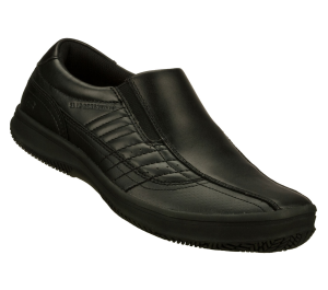 Black Skechers Work Relaxed Fit: Piers - Take Five