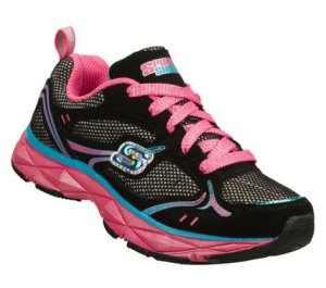 MultiBlack Skechers Sporty Shorty: Lite Diamond