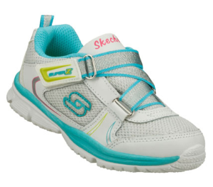 MultiWhite Skechers Speedees - Tiny Steps