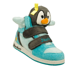 GrayBlue Skechers Sugarcanes - Lil Cuddlers
