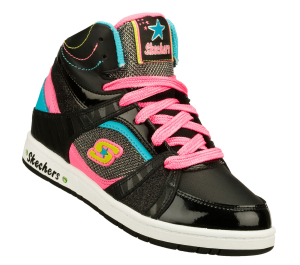 MultiBlack Skechers Sugarcanes - Candy Cutie