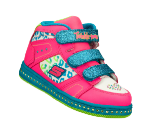MultiPink Skechers Twinkle Toes: Cherished - Beloved