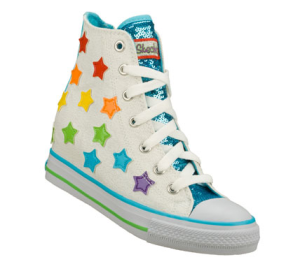 MultiWhite Skechers Hydee Plus 2: Gimme - Starry Skies