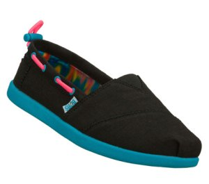 MultiBlack Skechers Bobs World - Toggle Ups