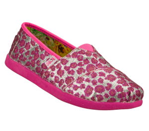 SilverPink Skechers Bobs World III
