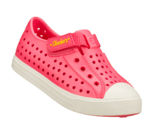 Pink Skechers Twist Ups - Pitter Patter