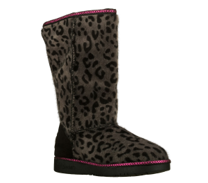PinkGray Skechers Glamslam - Soft Paws