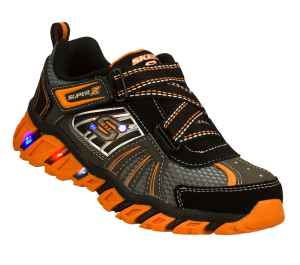 OrangeBlack Skechers S Lights: Pillar