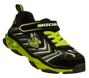 GreenBlack Skechers S Lights: Galvanized - Lova