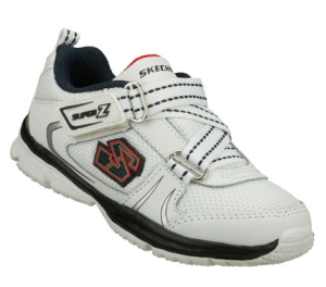 NavyWhite Skechers Speedees
